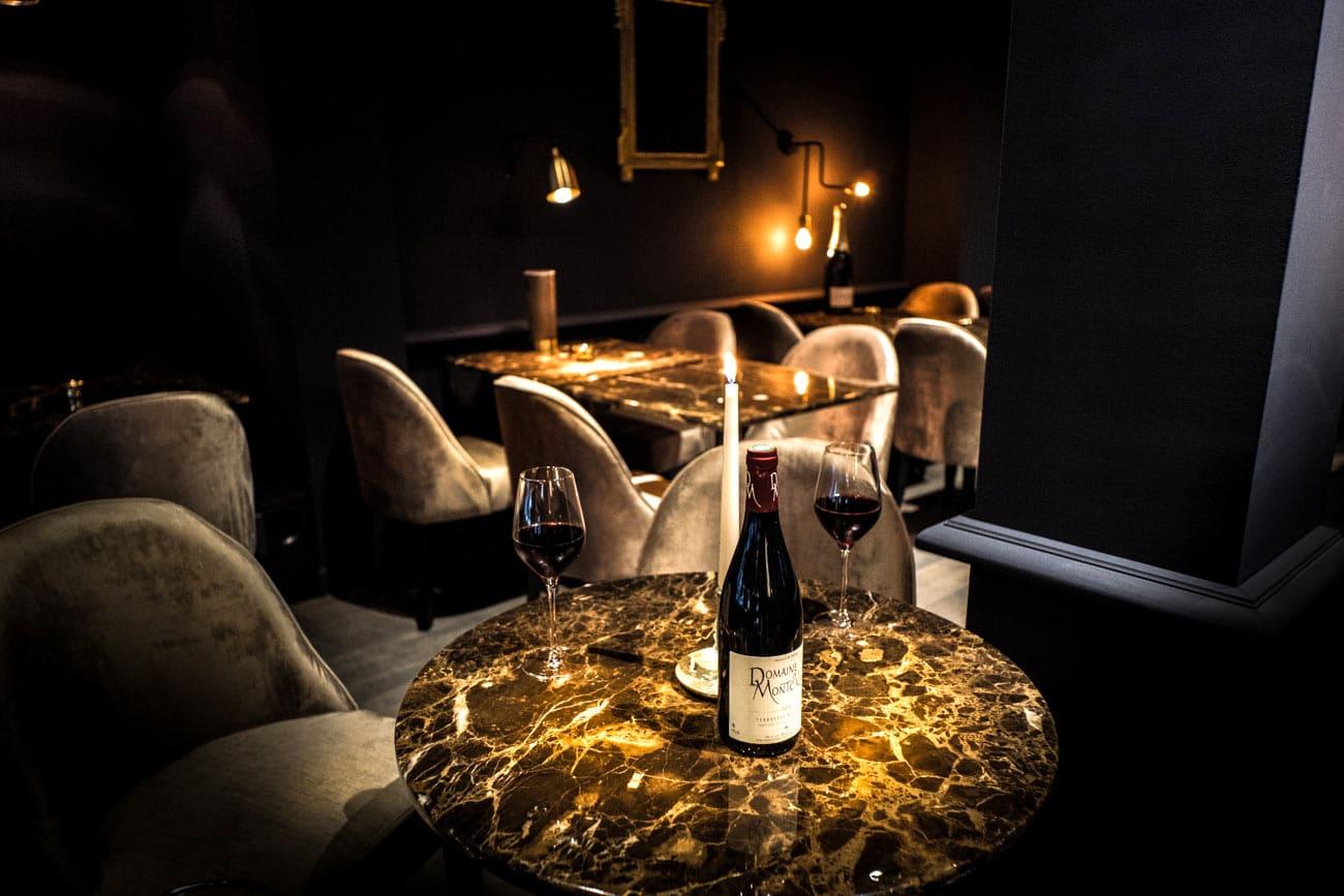 Luxe, calme et volupté - bar à vin le Salon Français à Annecy